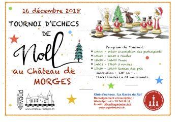 Affiche Tournoi Noel 2018