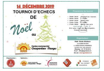Affiche Tournoi Noel 2019