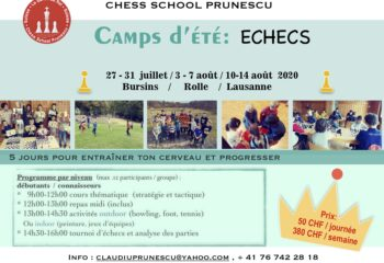 affiches ete camp