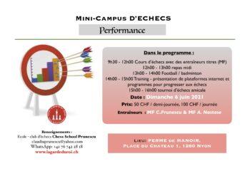 Mini-camp Performance 6 juin