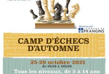 Camp Echecs automne '21