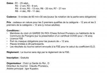 Flyer PDF Tournoi int. GDR 2021
